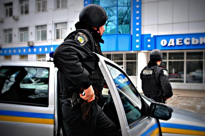 В Одесі затримали чоловіка з комуністичною символікою