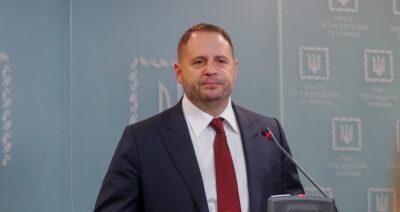 Андрій Єрмак підсумував зустріч із держсекретарем США Блінкеном