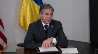 Блінкен висловив думку про результативність візиту в Україн