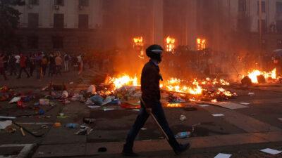 Річниця трагедії 2 травня в Одесі: поліція забезпечує порядок у місті