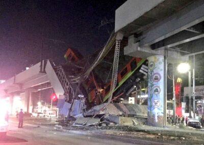 Обвал моста: У Мехіко загинули 15 людей, є поранені