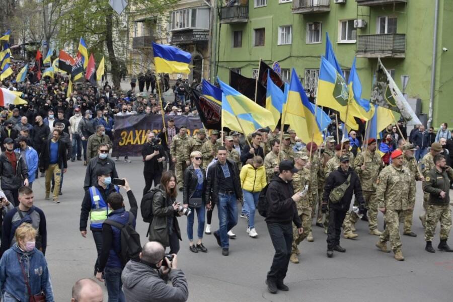 В Одеському марші пам'яті взяли участь три тисячі осіб