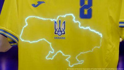У соцмережах продають футболки-підробки збірної України