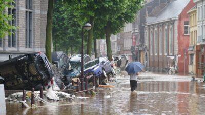 Під час інтерв'ю мера обвалився будинок: яка ситуація в Бельгії