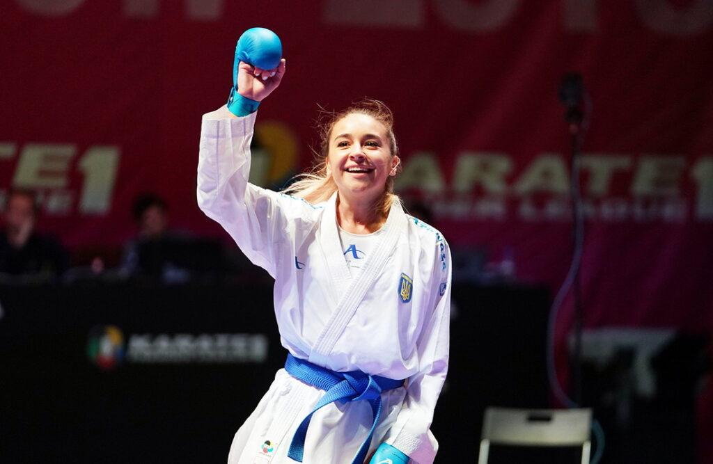 Анжеліка Терлюга здобула срібло Олімпіади з карате