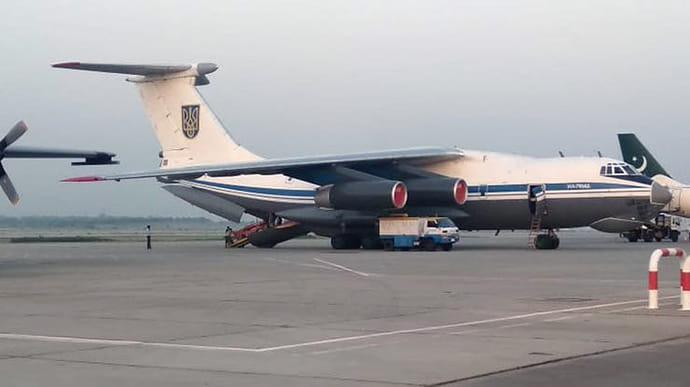 Український літак вилетів із Кабула з евакуйованими людьми
