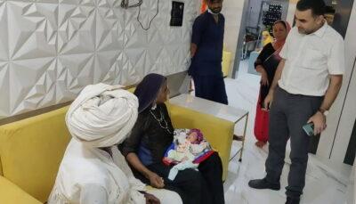 70-річна мешканка Індії народила хлопчика